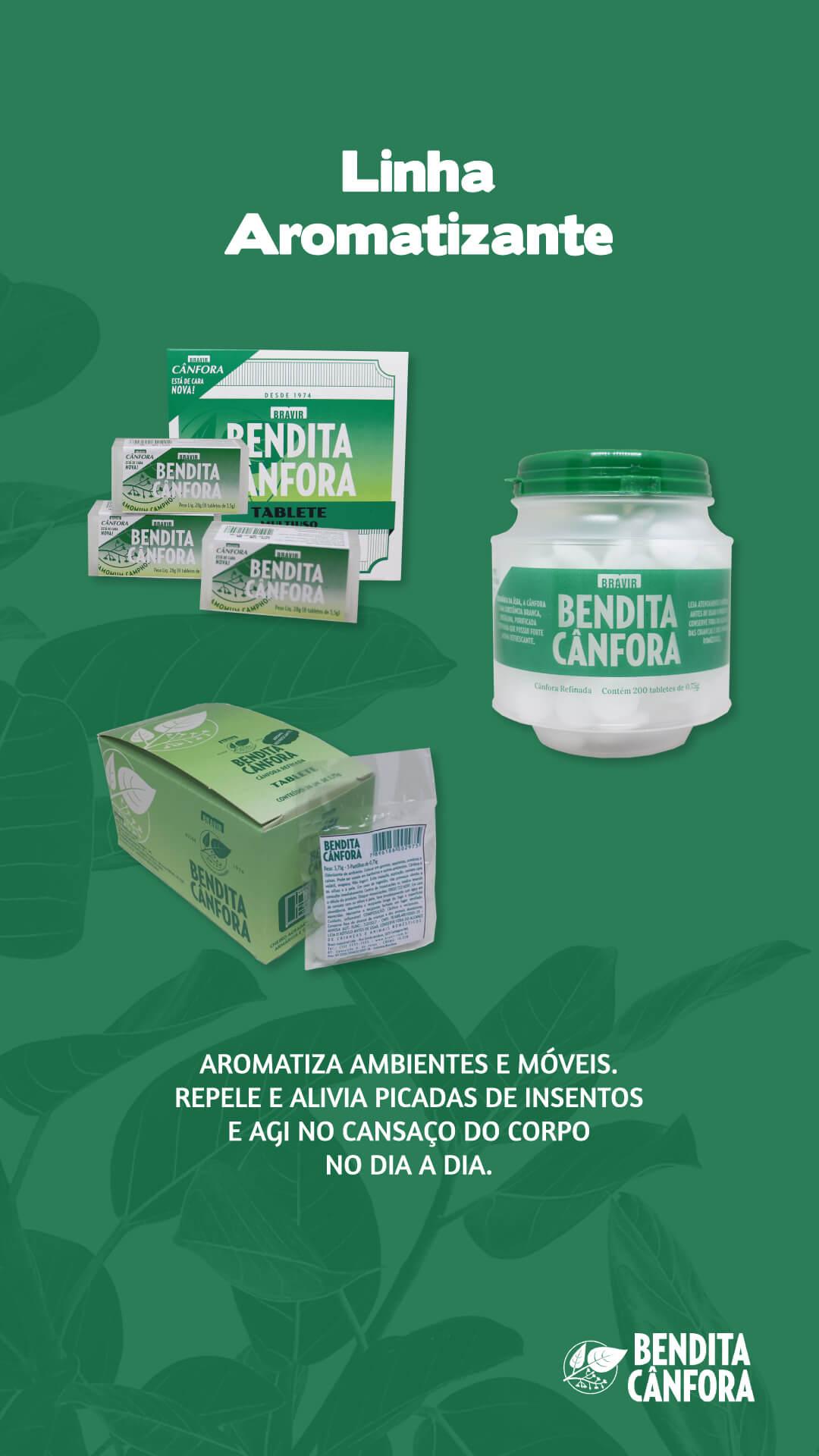Bendita Canfora Tabletes